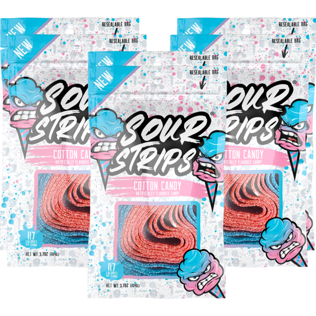 Actual Candy Sour Strips