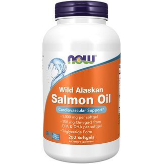 Now Foods Wild Alaskan Salmon Oil 200 Sg
