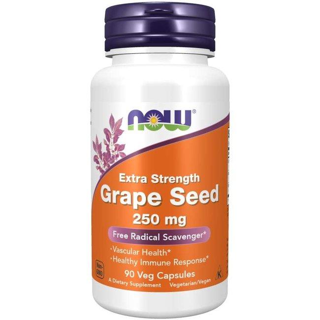 Now Foods Grape Seed Extract 250 Mg 90 Veg Caps