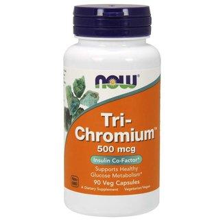 Now Foods Tri-Chromium 500Mg 90 Veggie Capsules