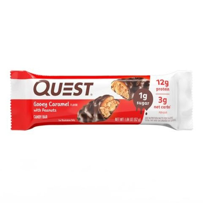 Quest Gooey Caramel Candy Bar