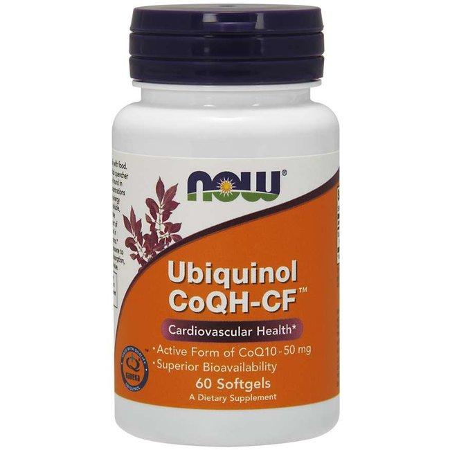 Now Foods Ubiquinol CoQH-CF™ Softgels