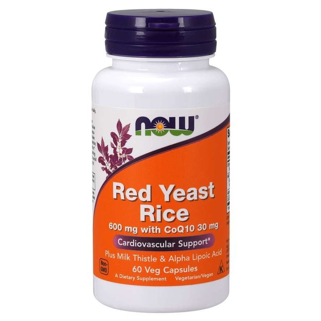 Now Foods Red Yeast Rice  CoQ10  Veg Caps