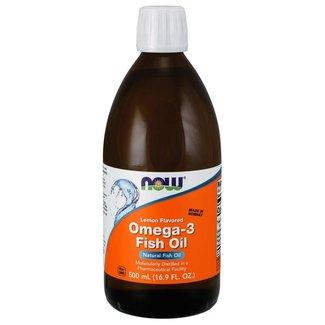 Now Foods Omega-3 Fish Oil Liquid 16.9 oz