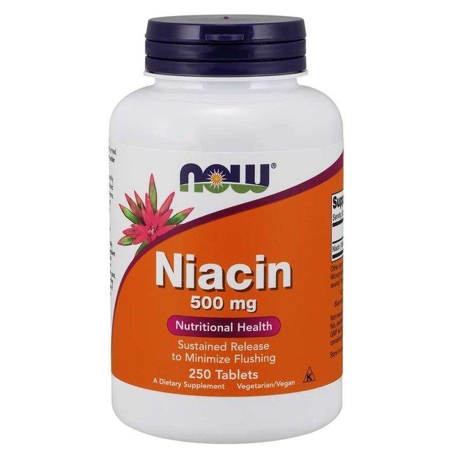 Now Foods Niacin 500 mg w/ 250 Tablets