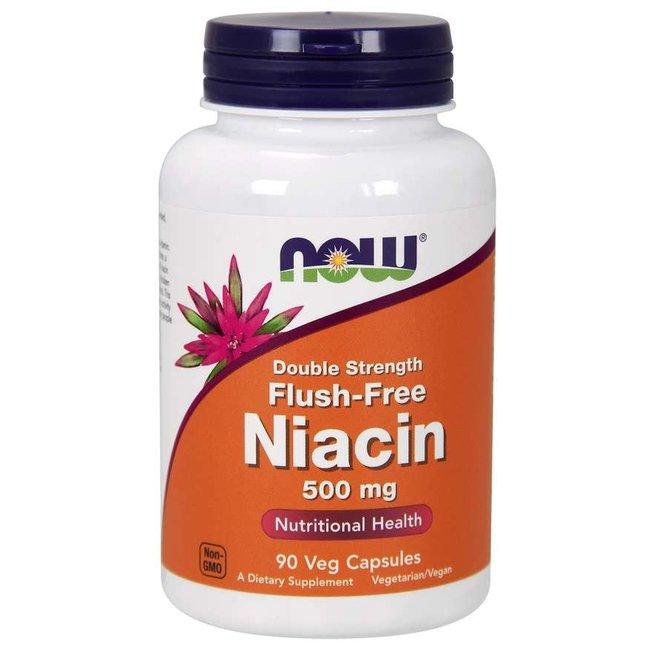 Now Foods Niacin 500 mg, Double Strength Flush-Free VC