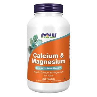 Now Foods Calcium & Magnesium 250 Tablets
