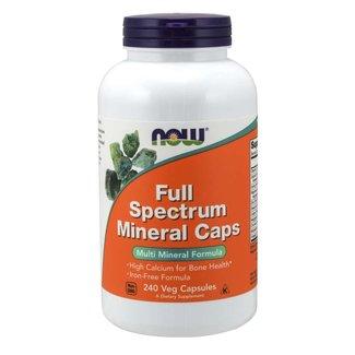Now Foods Full Spectrum Mineral Caps w/ 240 Veg Capsules