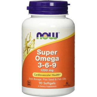 Now Foods Super Omega 3-6-9 1200 mg w/ 90 Softgels