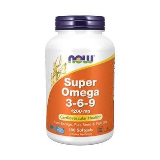 Now Foods Super Omega 3-6-9 1200 mg w/ 180 Softgels