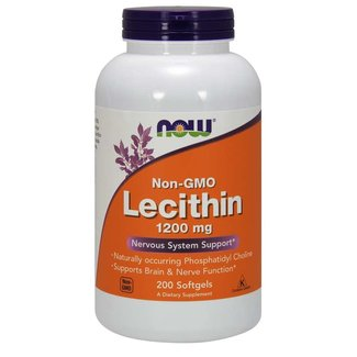 Now Foods Lecithin 1200 mg w/ 200 Softgels