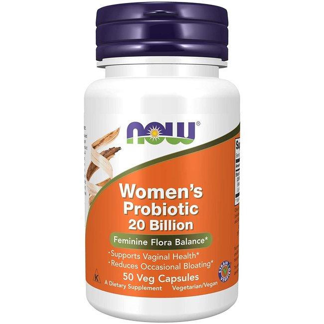 Now Foods Women's Probiotic 20 Billion with 50 VC