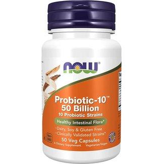Now Foods Probiotic-10™ 50 Billion with 50 Veg Capsules