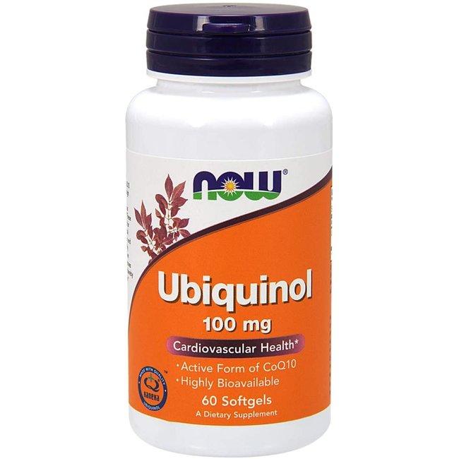 Now Foods Ubiquinol 100 mg w/ 60 Softgels