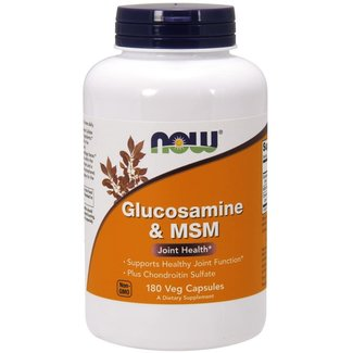 Now Foods Glucosamine & Chondroitin with MSM w/ 180 VC