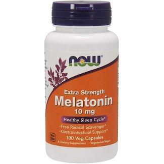 Now Foods Melatonin, Extra Strength 10 mg w/ 100 VC