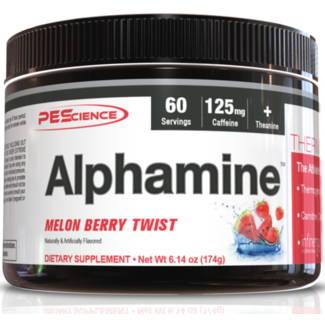Pescience Alphamine Thermogenic Energy Powder