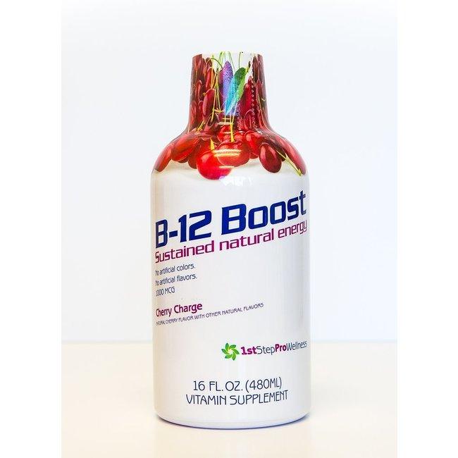1st Step Liquid B12 Boost 16oz