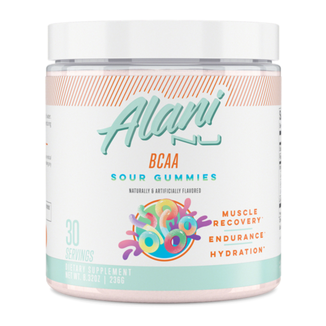 Alani Nu BCAA Muscle Recovery Powder Sour Gummy Flavor