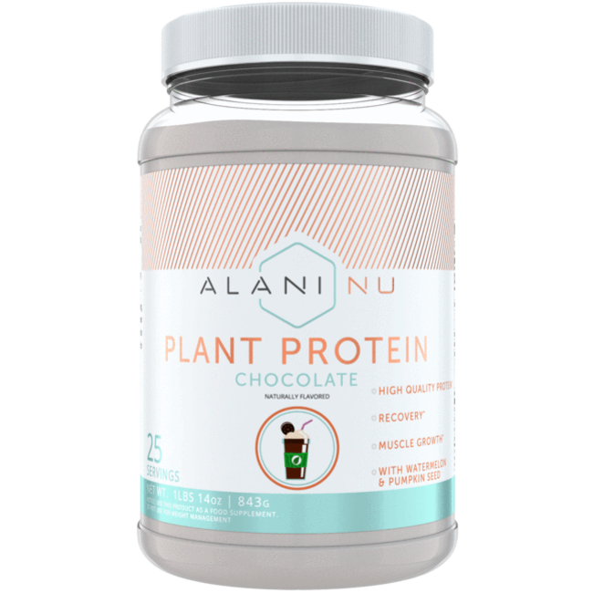 Alani Nu Plant Protein - Chocolate Flavor with 25 Servings