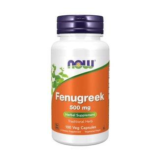 Now Foods Fenugreek 500 mg w/ 100 Veg Capsules