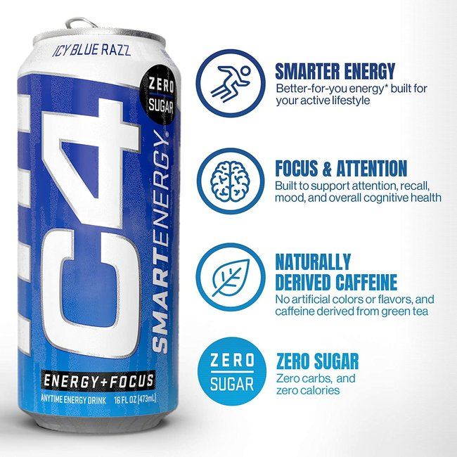 Cellucor C4 Smart Energy Carbonated
