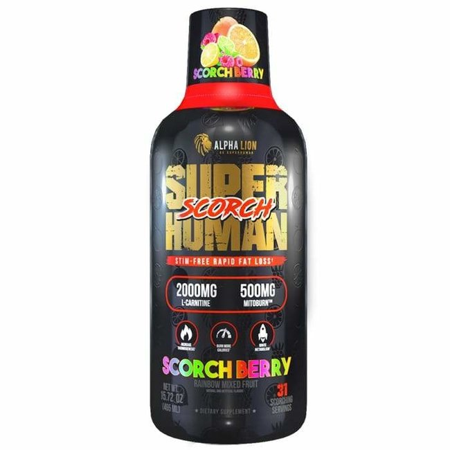 Super Human Scorch Shred Berry 31 Servings