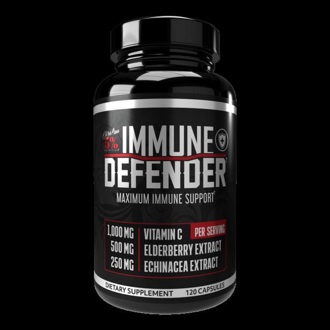 5% Nutrition Immune Defender with 120 Capsules