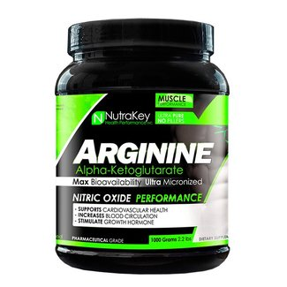 Nutrakey Arginine Akg Powder 1000 Grams