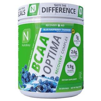 Nutrakey BCAA OPTIMA 30 SERV BLUE RASPBERRY THUNDER