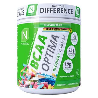 Nutrakey BCAA OPTIMA 30 SERV SOUR GUMMY WORMS