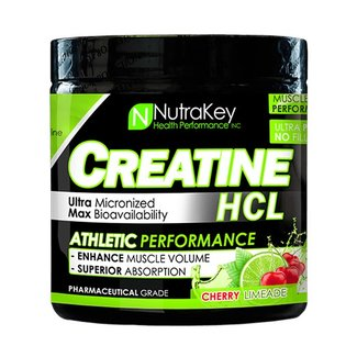 Nutrakey Creatine HCL Cherry Limeade 125 Servings