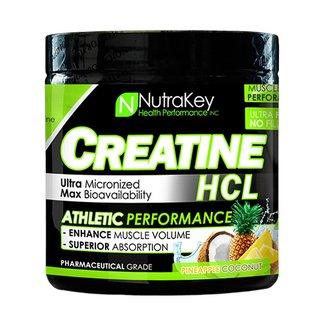 Nutrakey Creatine HCL Pineapple Coconut 125 Servings
