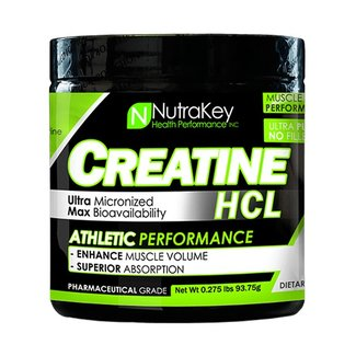 Nutrakey Creatine HCL Unflavored 125 Servings