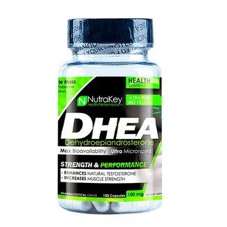 Nutrakey DHEA 100MG 100 CAP