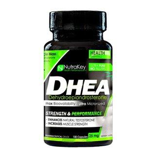 Nutrakey DHEA 25mg 100 Capsules