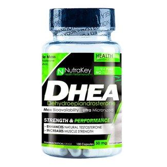 Nutrakey DHEA 50mg 100 Capsules