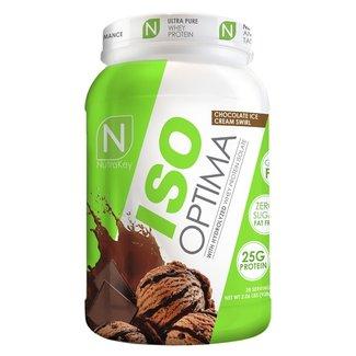 Nutrakey ISO OPTIMA 2 LB CHOCOLATE SWIRL
