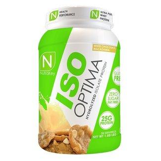 Nutrakey ISO OPTIMA 2 LB WHITE CHOCOLATE MACADAMIA