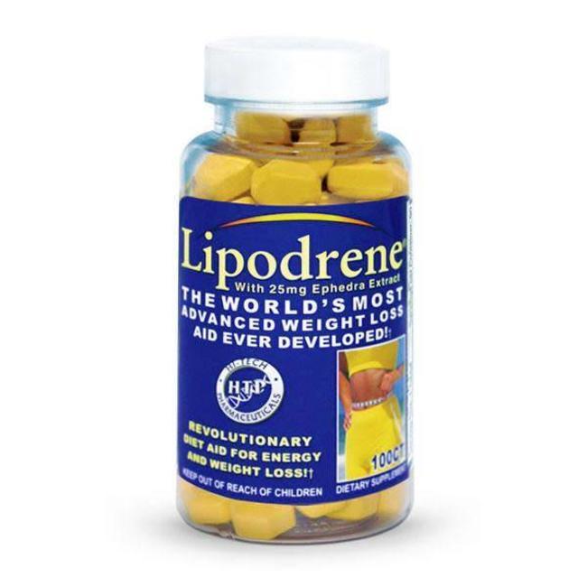 Hi Tech Pharmaceuticals Lipodrene 100 Tablets