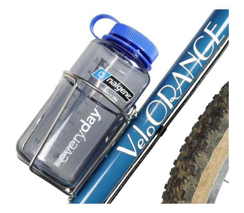 Velo Orange Mojave Water Bottle Cage Silver