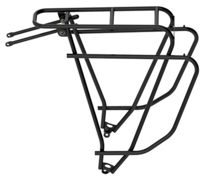 Tubus Logo +2 Evo Black Rear Rack