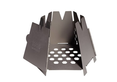 Vargo Vargo Hexagon Wood Stove titanium