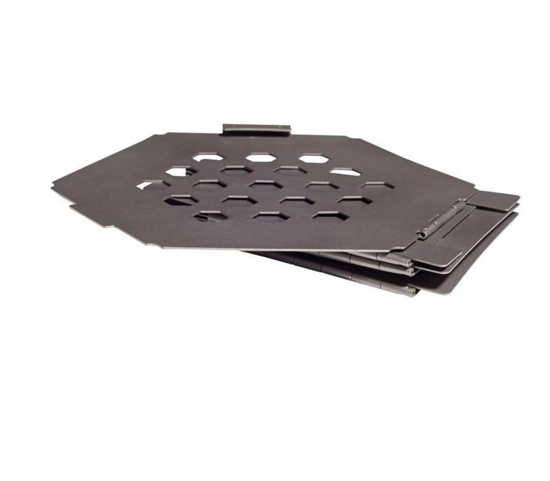 Vargo Hexagon Wood Stove titanium