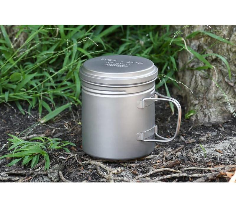 Vargo Titanium BOT 700 Bottle Pot