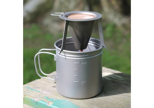Vargo Vargo Titanium Travel Coffee Filter