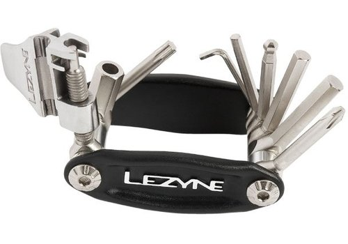 Lezyne CRV-12 Folding Multi-Tool Black