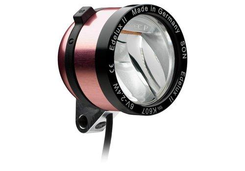 Schmidt Schmidt Edelux II Dynamo Headlight Pink 140cm