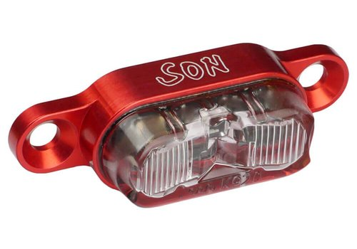 Schmidt Schmidt tl SON rack RED Ano,clear lens ,50mm