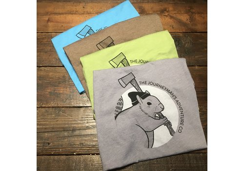 Journeyman's Squirrel Short Sleeve T Shirt